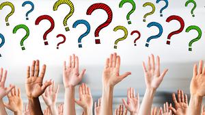 Show interest, hands up, questioning, Single Source Recruitment, Gloucestershire Recruitment, Tewkesbury Recruitment