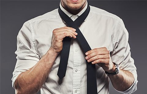 Tying a tie, Single Source Recruitment, Gloucestershire Recruitment, Tewkesbury Recruitment