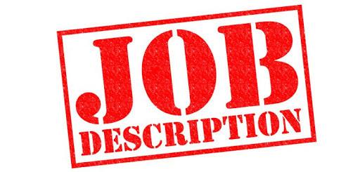 Job Description, Single Source Recruitment, Gloucestershire Recruitment, Tewkesbury Recruitment