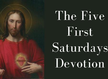 The Five First Saturdays Devotion