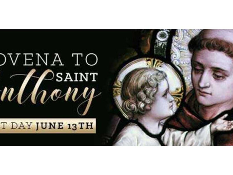 Novena to Saint Anthony (Feast: June 13)