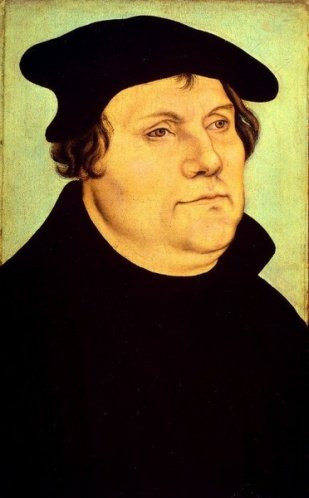 Martin Luther, the apostate Augustinian friar from Erfurt.