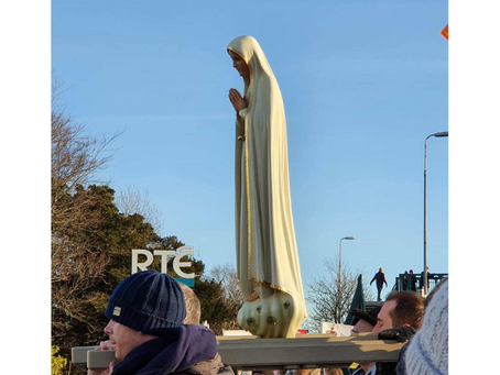 Rosary Brings Even RTÉ to its Knees!