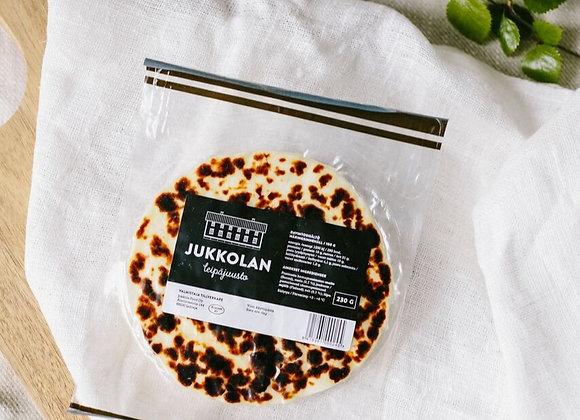 Jukkolan vähälaktoosinen leipäjuusto 230 g