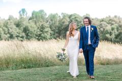 Herd Wedding May 24, 2019 couple walking