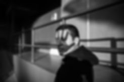 monochrome-photo-of-man-wearing-hoodie-1