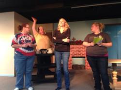 Christmas Belles rehearsal 5