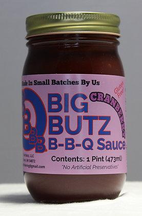 Big Butz Cranberry BBQ Sauce