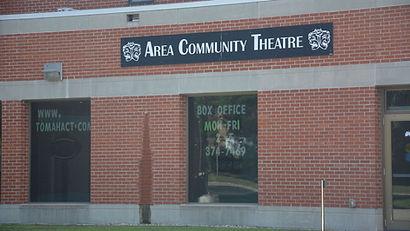 Tomah Area Community Theatre buildin