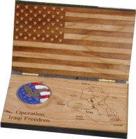 Flag Coin Box