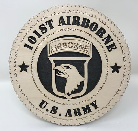 6 inch Desktop Tribute - United States Army 101st Airborne