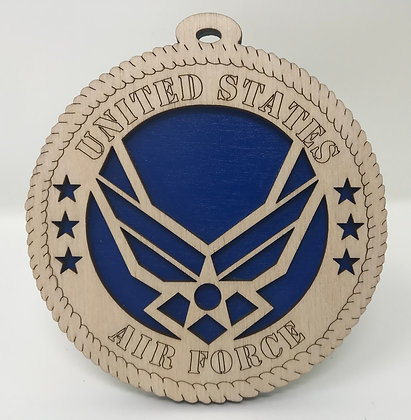 Air Force Military Crest Ornament