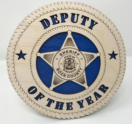 6 inch Deputy of the Year