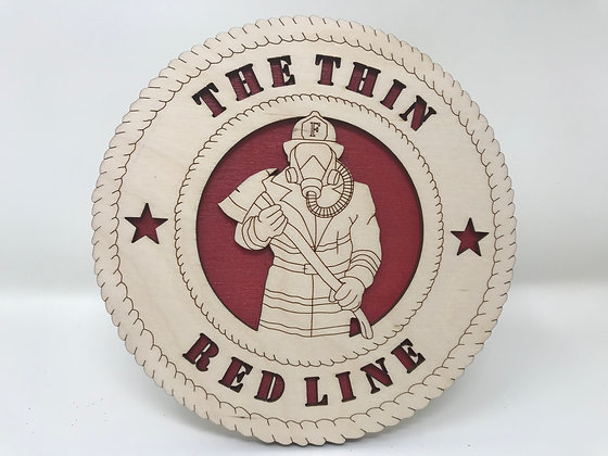 6 inch Desktop Tribute - The Thin Red Line