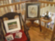 Wildes Art Gallery featuring Wisconsin artists' artwork.  Limited edition prints also for sale.  Located in the Antique Mall in Tomah, Wisconsin