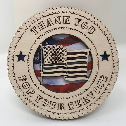 Thank You for Your Service Magnet