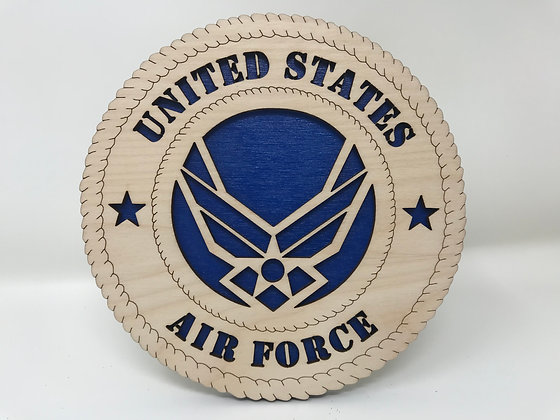 6 inch United States Air Force Plaque