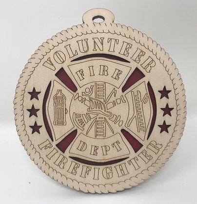 Volunteer Firefighter Ornament