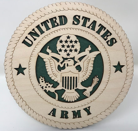 6 inch Desktop Tribute - United States Army