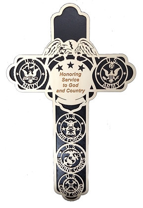 Honoring Service to God and County Cross