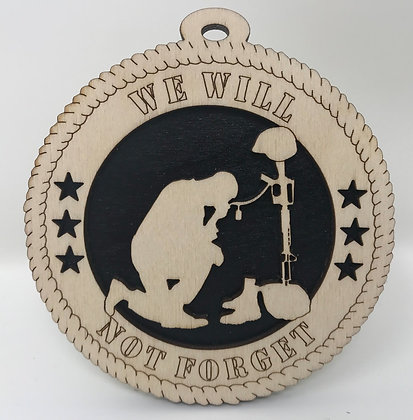 We Will Not Forget Ornament