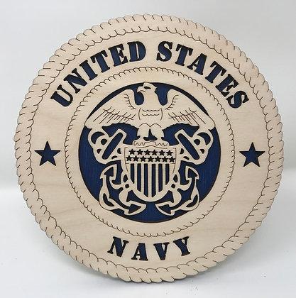 6 inch Desktop Tribute - United States Navy