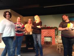 Christmas Belles rehearsal 4
