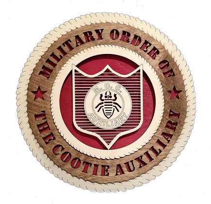 12 inch Special Military Auxiliary Tribute Wall Plaque