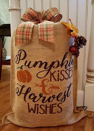"""Pumpkin Kisses & Harvest Wishes"""