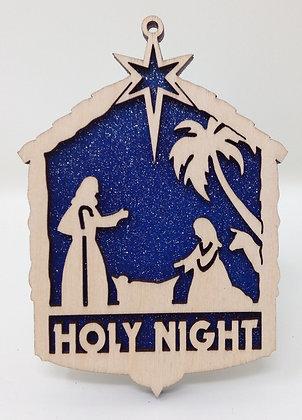 Holy Night Nativity Ornament