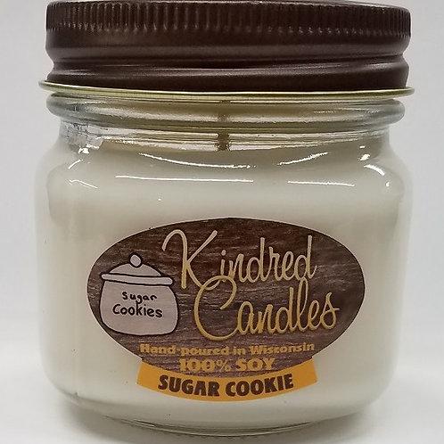 1/2 Pint Soy Jar - Sugar Cookie (Holiday)