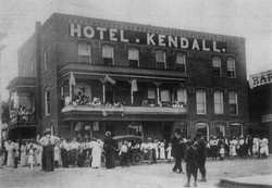 Hotel Kendall (later Hotel Senz)