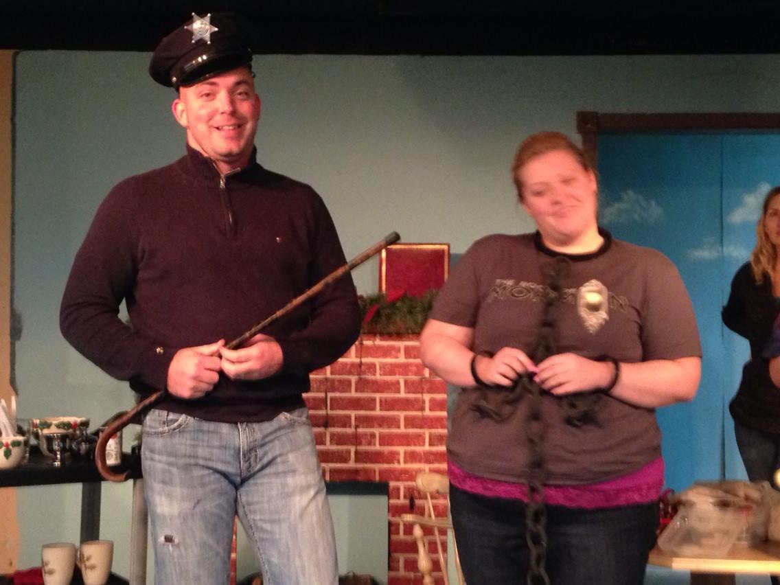 Christmas Belles rehearsal 2