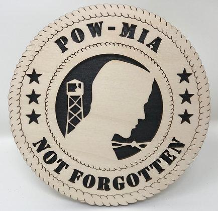 6 inch Desktop Tribute - POW-MIA Not Forgotten
