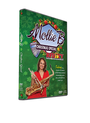 Mollie B. Christmas 2014 DVD Set
