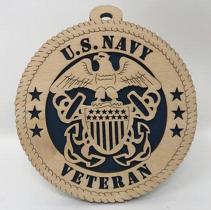 U.S. Navy Veteran Ornament