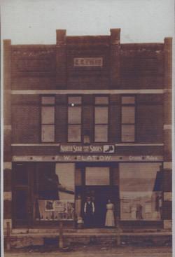 C.R. Evans' Northstar shoe store.