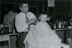 Ranney's Barber shop. 1917-1964