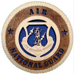 12 inch Wall Tribute - Air National Guard