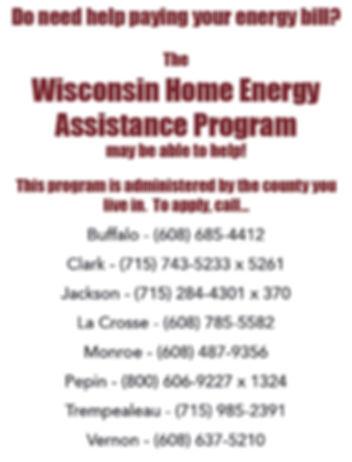 Energy Assistance Social Media Poster .j