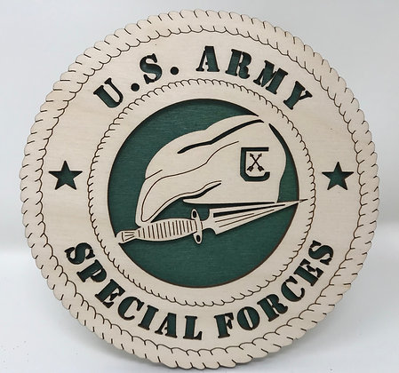 6 inch Desktop Tribute - U.S. Army Special Forces
