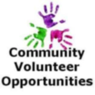 Community Volunteer Opportunities