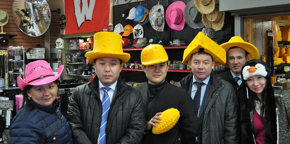 kazahkstan delegation