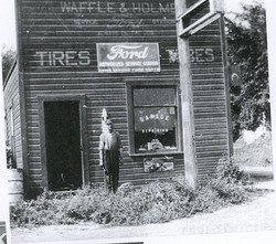 Waffle and Holmes tires