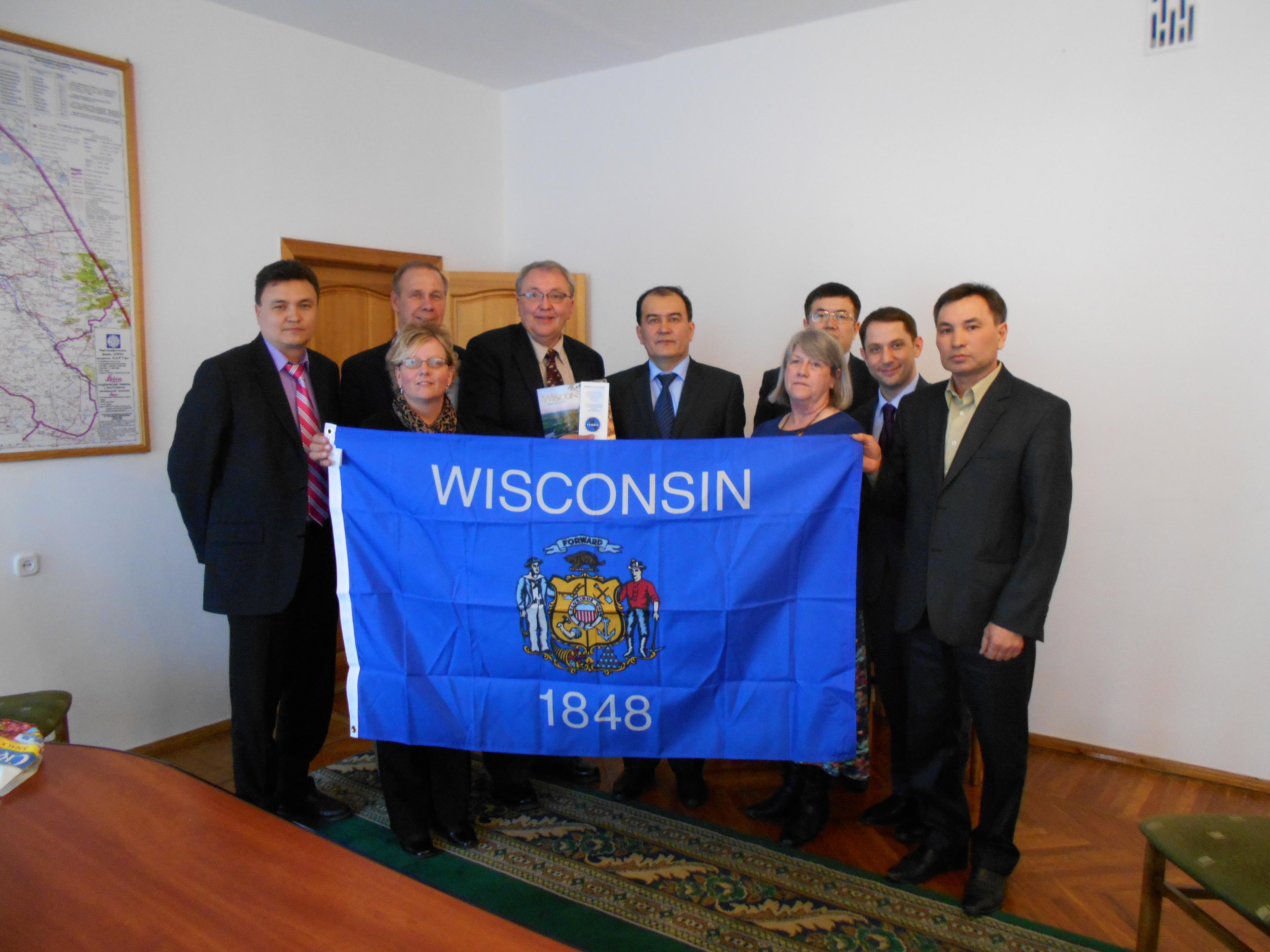C  Asia-Delegation presenting Flag to Ag Secretary (3)