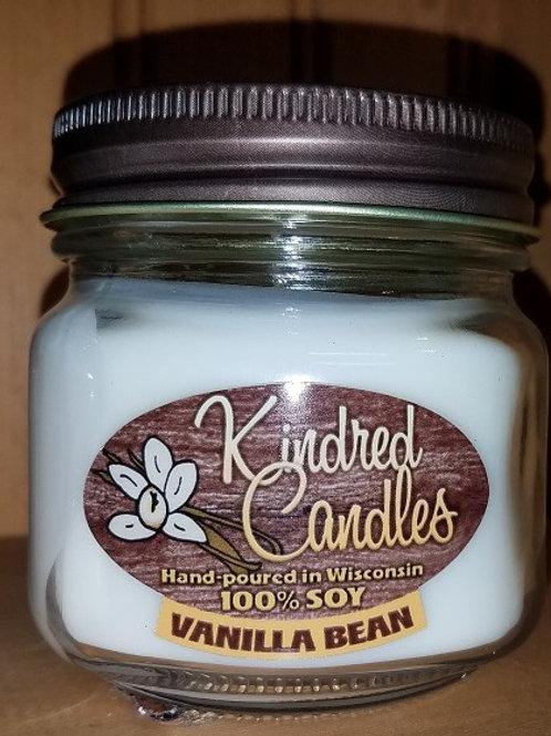 1/2 Pint Soy Jar - Vanilla Bean