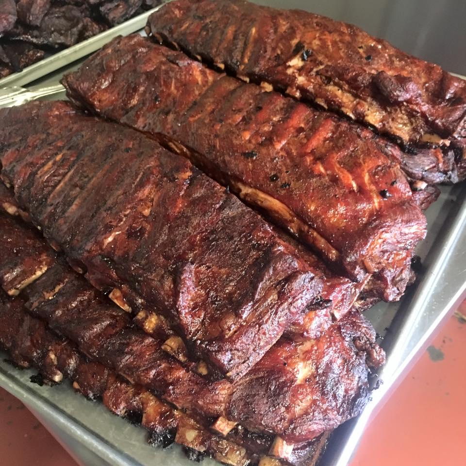 whole lot of rib racks