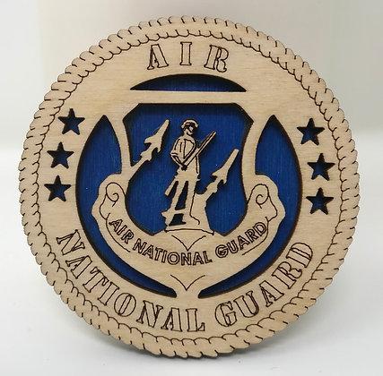 Air National Guard Crest Magnet