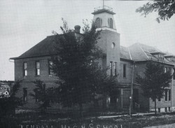 Kendall High School about 1894.