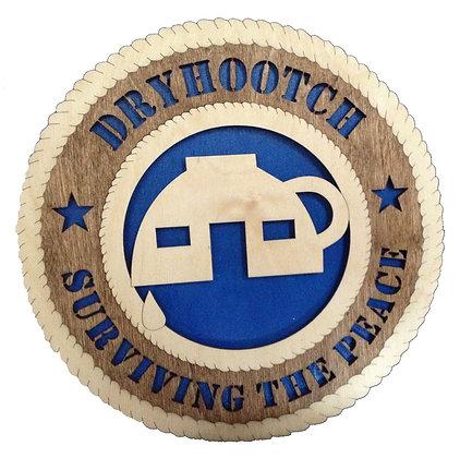 12 inch Wall Tribute - Iraq War Veteran Dryhootch